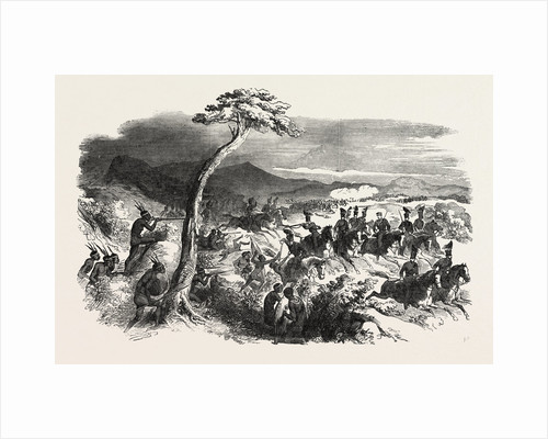 Bush-Fighting in Kaffraria, South Africa by Anonymous