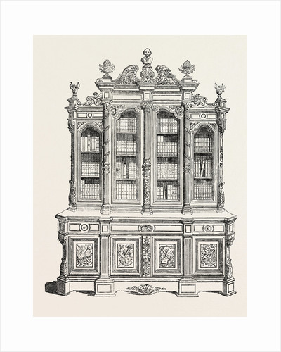Carved Bookcase, Societe Des Ebenistes by Anonymous