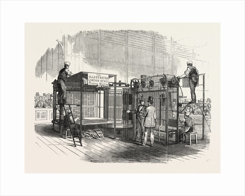 Patent Vertical Printing Machine, in the Great Exhibition, Class C, No. 122, London by Anonymous