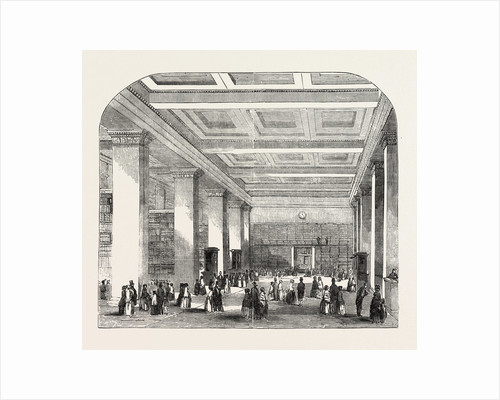 British Museum, the Royal or King's Library, the Large Room, London by Anonymous