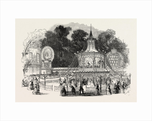 Cremorne Gardens, the Orchestra, London; Pleasure Ground, Entertainment by Anonymous