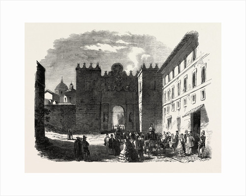 English Protestant Place of Worship at Rome, Italy by Anonymous