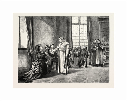 A Reception at the Vatican, Rome, Italy by Anonymous