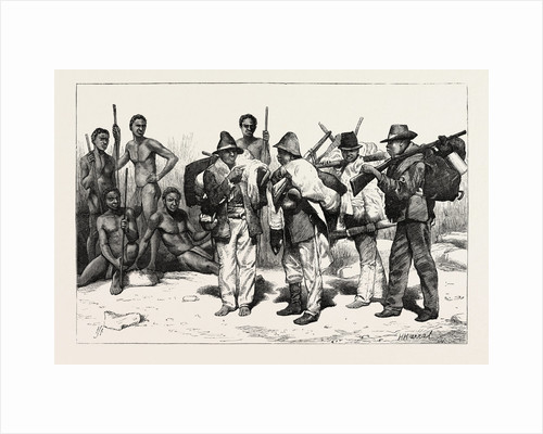 Digging for Diamonds at Cape Colony: The Natives, Before and after Working in the Mines, South Africa by Anonymous