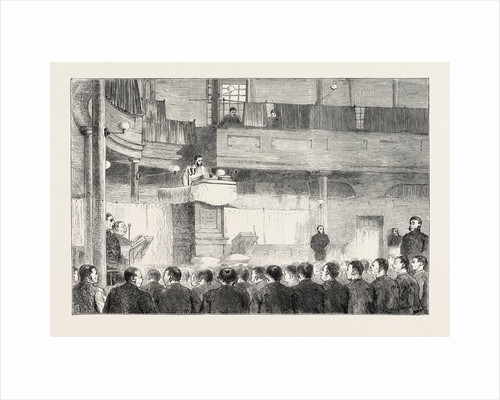 Religious Services in Jail: The Protestant Chapel, Millbank, London by Anonymous