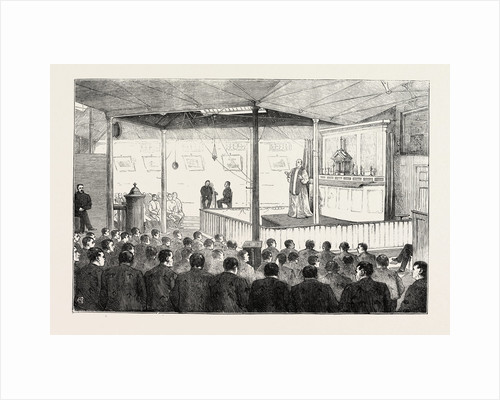 Religious Services in Jail: The Roman Catholic Chapel, Millbank, London by Anonymous