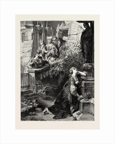 Margaret Before the Image of the Mater Dolorosa: A Scene from Goethe's Faust, Goethe by Anonymous