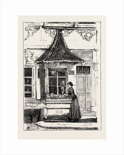 Baker's Shop at Wurzburg, Germany by Anonymous