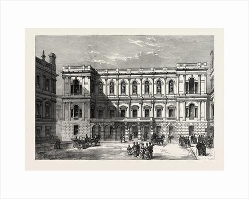 The Royal Academy of Arts, Burlington House, London by Anonymous