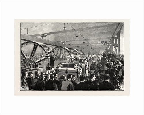 Opening of the Liverpool Docks Overhead Electric Railway: Lord Salisbury Turning on the Electric Current by Anonymous