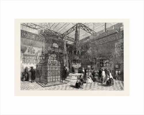 The Crystal Palace: The Mediaeval Court, 1851, London by Anonymous