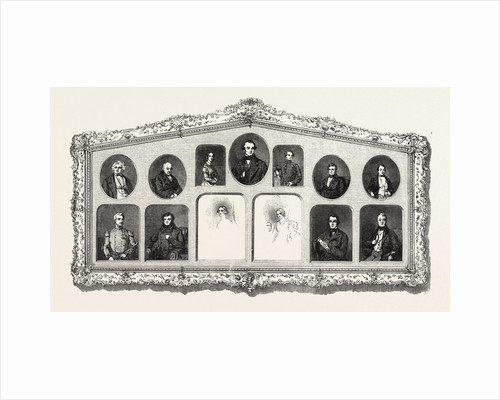 T. Carrick, Frame of Miniatures by Anonymous