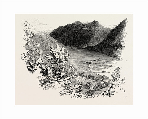 Crummock Water, from Lanthwaite Woods, Lake District by Anonymous