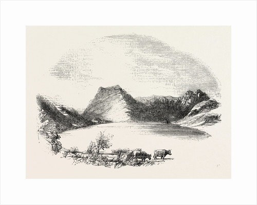 Buttermere, from the Fields at the Foot, Lake District by Anonymous