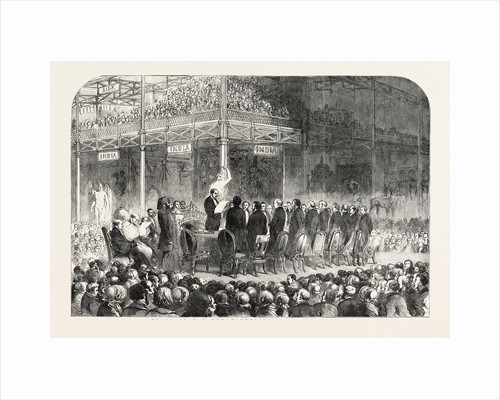 Close of the Great Exhibition, October 15, 1851, London by Anonymous
