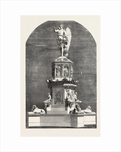 Design for a Monument in Commemoration of the Great Exhibition by Anonymous