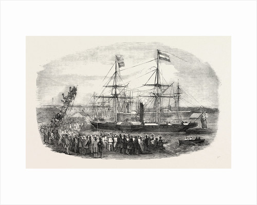 Arrival of M. Kossuth in the Southampton Docks by Anonymous