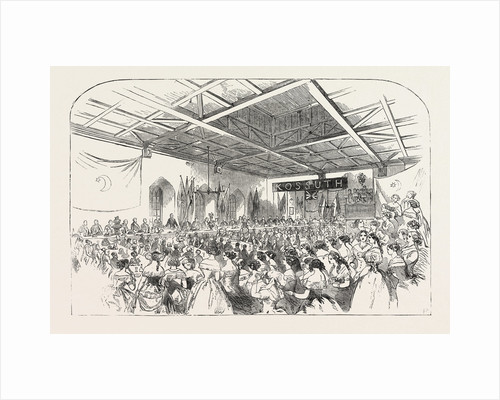 Banquet to M. Kossuth, in the Town Hall, Southampton by Anonymous