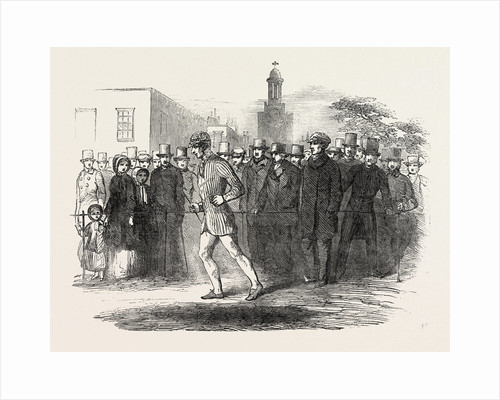 Richard Manks, the Pedestrian Completing His Thousandth Mile, on Kennington Oval by Anonymous