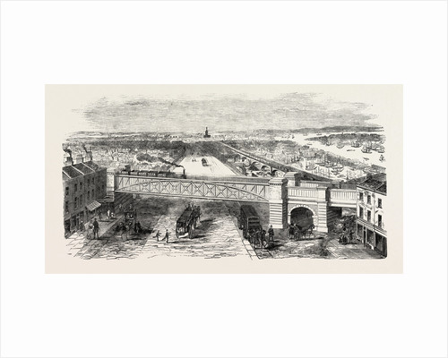 Bow Spring Bridge, Stepney Station by Anonymous
