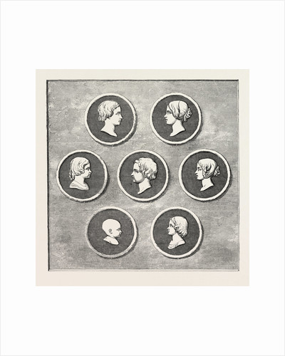 Portraits of the Royal Children, Modelled by Command of Her Majesty, Royal Mint by Anonymous