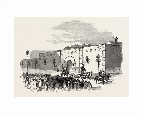 Revolution in France: Mazas, the Prison of M. Thiers and the Representatives, 1851 by Anonymous