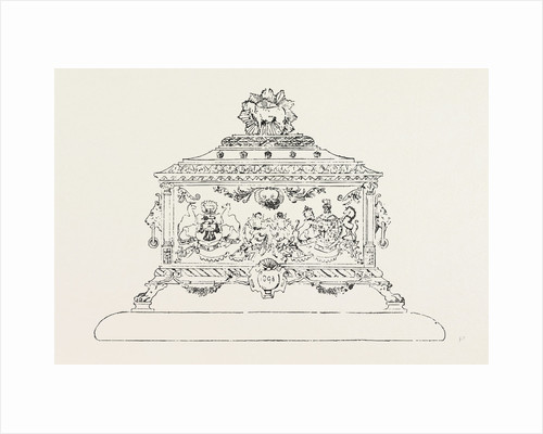 Casket for Freedom of Merchant Taylors Company Presented to the Duke of York, UK by Anonymous