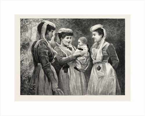 The Pet of the Hospital Nurses, Victorian Era Painter, UK by Anonymous