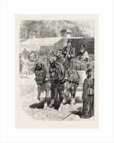 May-Day: The Cart-Horse Parade, Prize-Winners by Anonymous