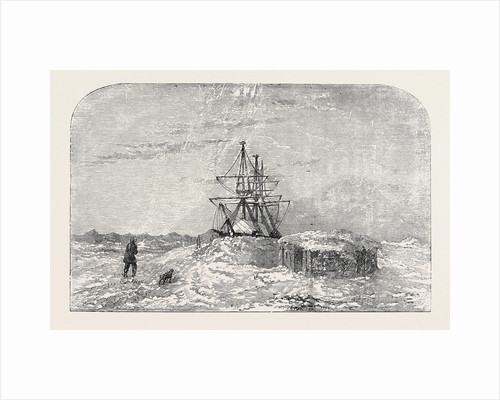 H.M.S. Enterprise in Winter Quarters, Camden Bay by Anonymous