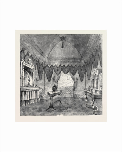Her Majesty's Visit to Paris: Boudoir for the Reception of Queen Victoria, at the Universal Exhibition, at Paris, August 4, 1855 by Anonymous
