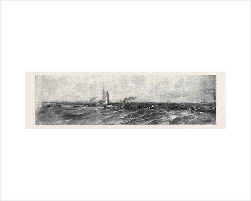 Pleasure Trip to the Tolboukin Lighthouse, in the Baltic by Anonymous