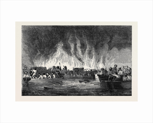 Destruction of Russian Vessels at Old Salis. by Anonymous
