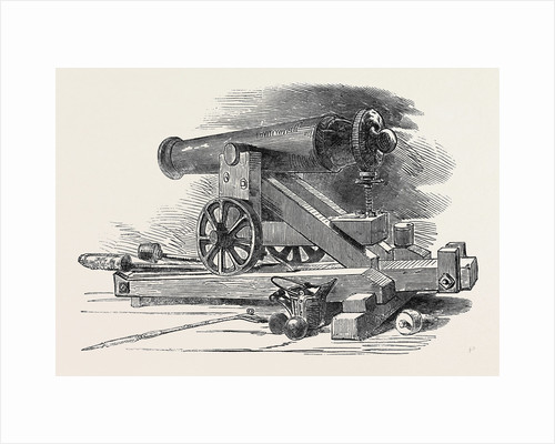 Fortress Gun from Bomarsund by Anonymous
