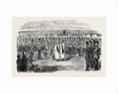 Presentation of New Colours to the West Kent Light Infantry, at Aldershott by Anonymous