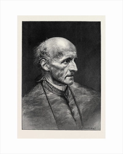 The Most Reverend Henry Edward Manning, D.D; Roman Catholic Archbishop of Westminster by Anonymous