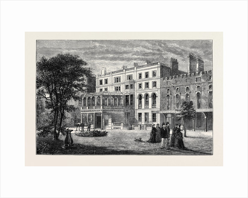Clarence House, Town Residence of the Duke and Duchess of Edinburgh by Anonymous