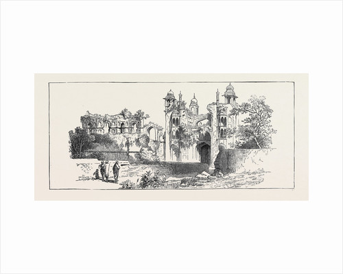 Sketches of Ancient Buildings at Dacca, Bengal: Ruined Gateway by Anonymous