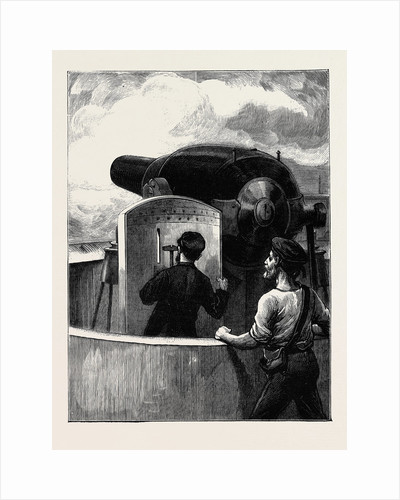 A Shot from the Téméraire by Anonymous