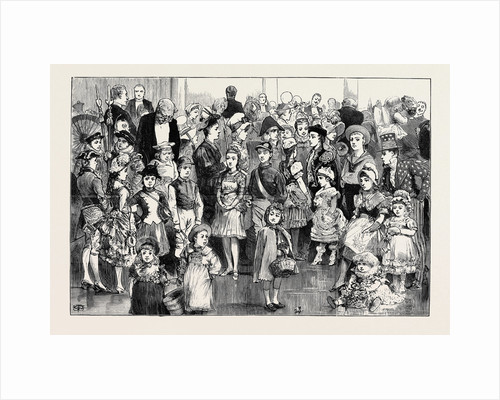 The Preston Guild Festival: The Children's Fancy Dress Ball in the Public Hall by Anonymous