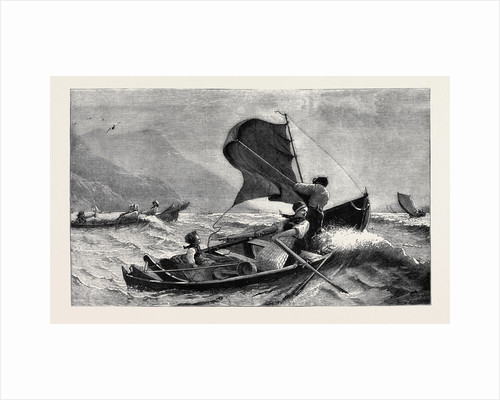 A Norwegian Fishing-Boat by Anonymous