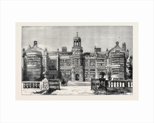 Ingestre Hall, Staffordshire, Seat of the Earl of Shrewsbury, Destroyed by Fire, October 12 by Anonymous
