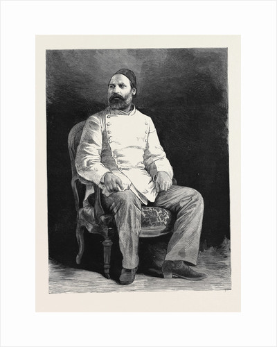 Arabi Pasha, in Prison at Cairo, Egypt by Anonymous