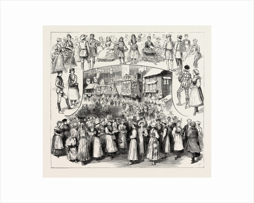 The International Peasant Festival at the Royal Albert Hall in Aid of the Funds of the West End Hospital for Paralysis London by Anonymous