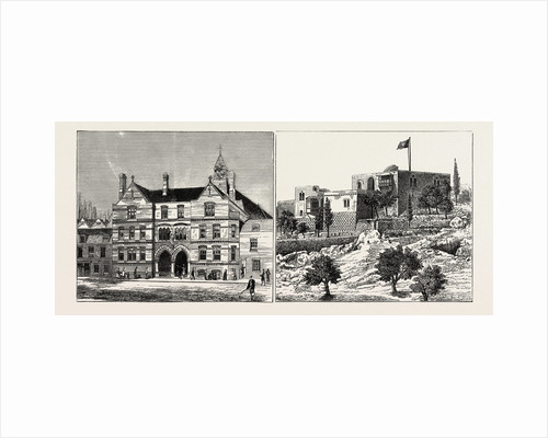 The Lowder Memorial Clergy House St. Peter's London Docks Opened by Earl Nelson (Left Image) British Ophthalmic Hospital and Hospice of the Order of St. John at Jerusalem (Right Image) by Anonymous