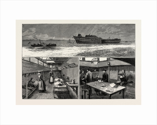 The Smallpox Epidemic and the Metropolitan Asylums Board: The Red Cross New Ambulance Steamer by Anonymous