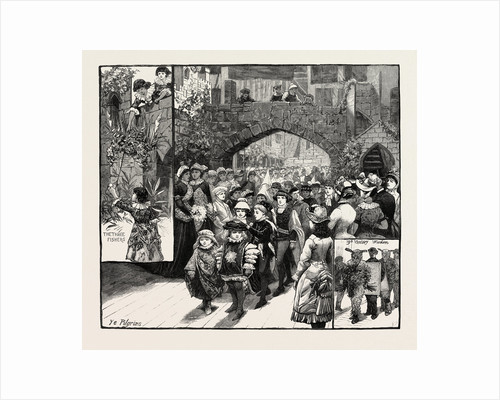 The Medieval Market at Knightsbridge for the Benefit of the College for Training Teachers of the Deaf at Ealing London UK by Anonymous
