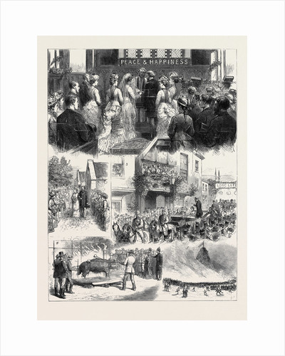 Marriage in High Life, the Wedding of Lady Theodora Grosvenor and Mr. T. Merthyr Guest by Anonymous