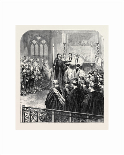Consecration at Westminster Abbey, 1870, London by Anonymous