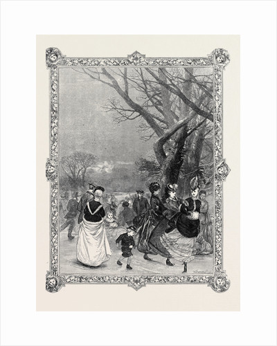 Skating, 1869 by Anonymous